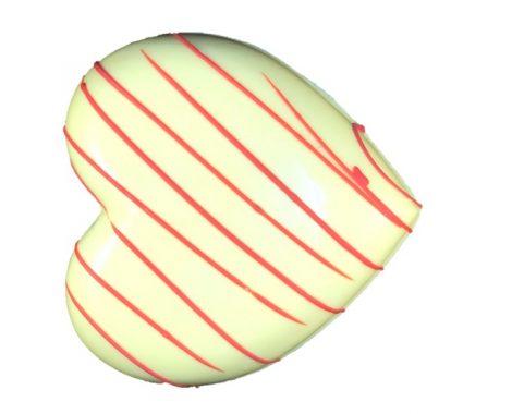 Coeur chocolat blanc